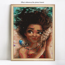 Load image into Gallery viewer, Beautiful Moana Cartoon Diamond Painting