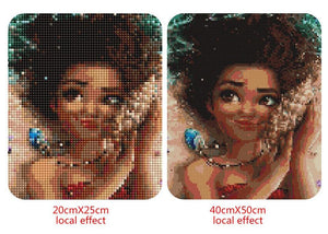 Beautiful Moana Cartoon Diamond Painting