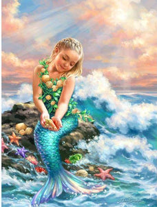 mermaid painting DIY diamond painting