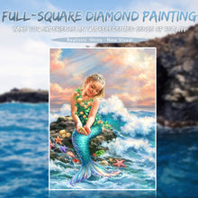 Load image into Gallery viewer, Adorable Little Mermaid Painting Kit