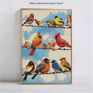 Birds - 5D Diamond Art