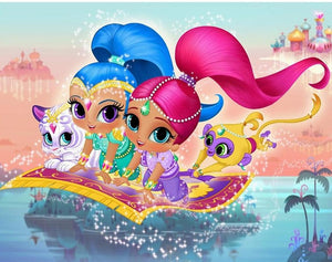 Shimmer & Shine diamond art
