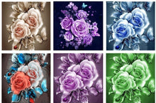 Load image into Gallery viewer, rose diamond paintings