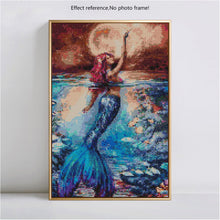 Load image into Gallery viewer, Gorgeous Colorful Mermaid Diamond Painting