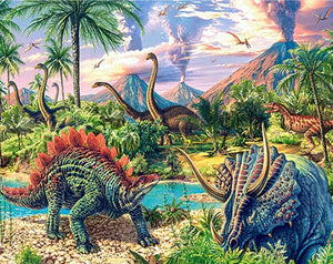 dinosaurs diamond painting