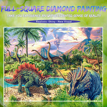 Load image into Gallery viewer, Incredible Dinosaurs & Dragons Diamond Painting