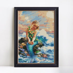 Adorable Little Mermaid Painting Kit
