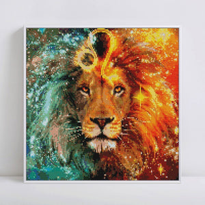 Attractive Leo Sign Diamond Painting Kit for LEOs