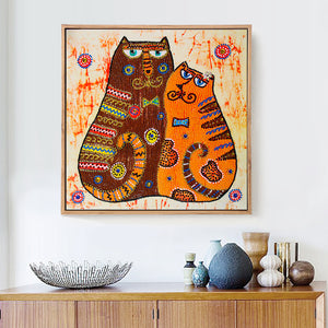Incredible Cats Special Diamond Painting