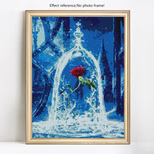 Load image into Gallery viewer, Big Beautiful Rose Paint by Diamonds