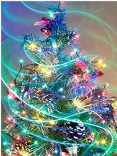 Load image into Gallery viewer, Christmas tree diamond painting