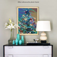 Load image into Gallery viewer, Beautiful Decorated Christmas Tree Diamond Art Kit