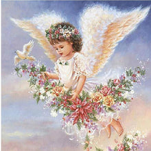 Load image into Gallery viewer, angel kid diamond painting