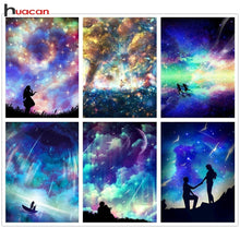 Load image into Gallery viewer, Beautiful Starry Sky and Galaxy Diamond Paintings