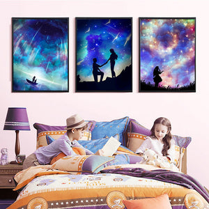 Beautiful Starry Sky and Galaxy Diamond Paintings