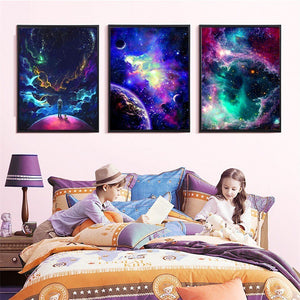Amazing Colorful Skies Diamond Painting