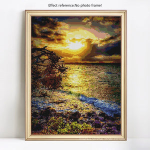 Beach & Sunset Diamond Painting