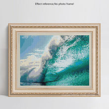Load image into Gallery viewer, Big Ocean Wave Diamond Painting