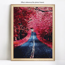 Load image into Gallery viewer, Long Road in Beautiful Forest Diamond Painting Kit
