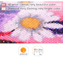 Load image into Gallery viewer, Santa Claus and Puppies on Snow Diamond Paint Kit