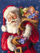Load image into Gallery viewer, Wonderful Santa Claus Christmas Paint by Diamonds