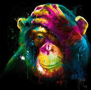 Amazing Colorful Monkey Diamond Painting