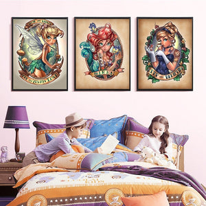 Amazing Tinkerbell Fairy Diamond Paintings