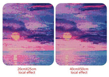 Load image into Gallery viewer, Sunset 5D Diamond Painting Kit