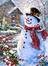 Load image into Gallery viewer, Christmas diamond painting