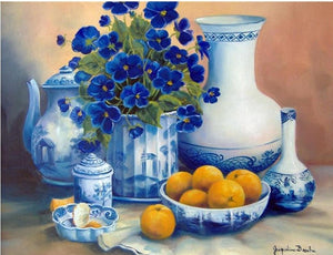 fruits and flowers diamond painting