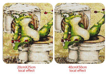 Load image into Gallery viewer, Funny Frog Toilet
