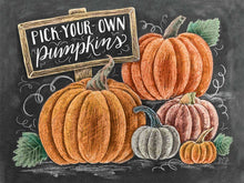Load image into Gallery viewer, Beautiful Pumpkin DIY Painting