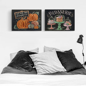 Beautiful Pumpkin DIY Painting