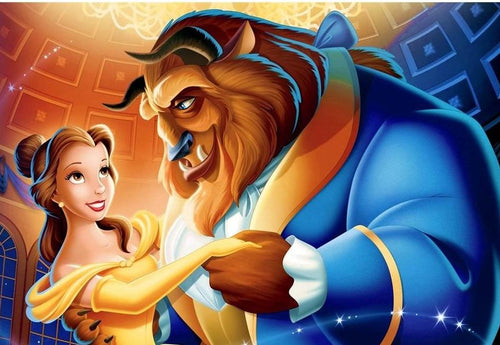 Beauty and The Beast Disney Diamond Painting Kits