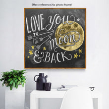 Load image into Gallery viewer, Love You Moon and Back