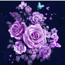Load image into Gallery viewer, Graceful Purple Roses
