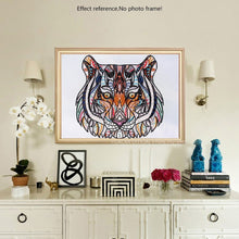 Load image into Gallery viewer, Colorful Special Shaped Tiger & Elephant