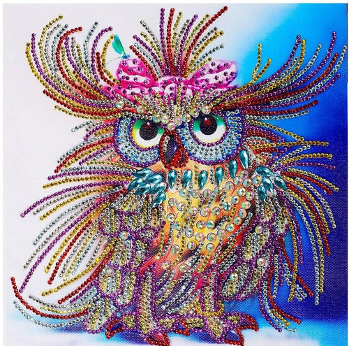 Owl Special Diamond Art