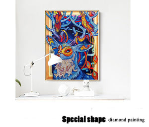 Nature Deer Special Diamond Art