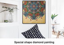 Load image into Gallery viewer, Special Colorful Flower Embroidery Style Diamond Painting