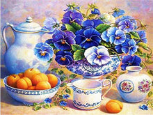 Load image into Gallery viewer, Beautiful Flowers Diamond Painting