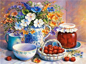 Beautiful Flowers Diamond Painting