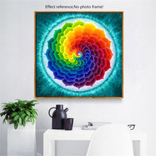 Load image into Gallery viewer, Colorful Mandala Diamond art Kit