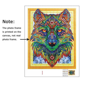 Special Shaped Wold Diamond Painting Kit