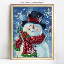 Load image into Gallery viewer, Elegant Snowman DIY Paintings
