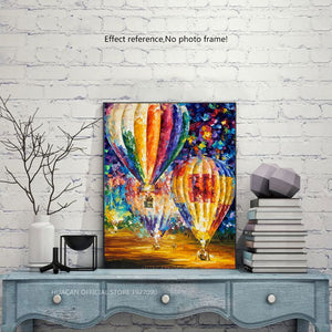 Very Beautiful Colorful Balloons