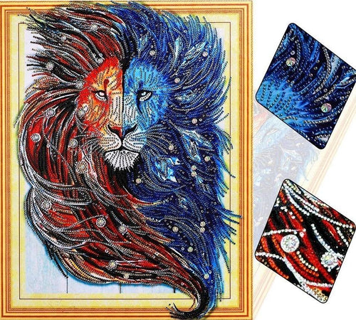 Big Lion Diamond Painting