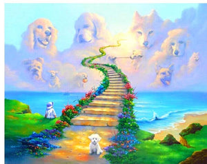 Dream Full Stairway to Heavens Diamond Art