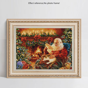 Old man Christmas Memories Diamond Painting