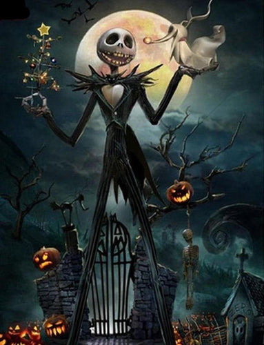 Halloween Nightmare Before Christmas Diamond Painting Kit